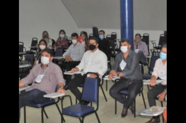 Tavanes de Miranda Firmo, Presidente da Câmara de Estreito participou em São Luís do II Encontro de Presidentes de Câmaras Municipais, realizado em parceria com a Famem.